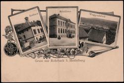106920: Germany West, Zip Code W-68, 692 Sinsheim- Elsenz