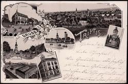 116710: Deutschland Ost, Plz Gebiet O-67, 671 Neustadt (Orla)