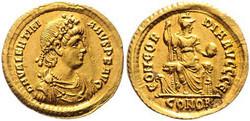 Antike - Römische Kaiserzeit - Valentinianus II., 375 - 392