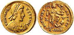 Antike - Weströmisches Reich - Honorius, 393 - 423