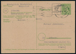 1304: British Zone  - Postal stationery
