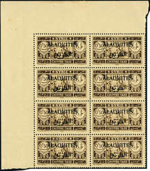 1615: Alawiten - Postage due stamps
