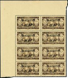 1615: Alawiten - Portomarken