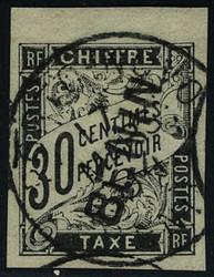 1870: Benin - Portomarken
