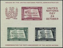 7590: Sammlungen und Posten Vereinte Nationen UNO - Blöcke