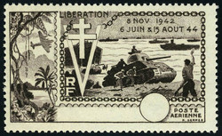 3005: Indien - Flugpostmarken