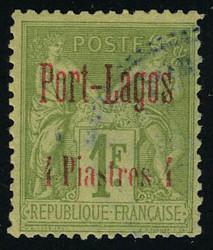 2640: Frankreich Postdampferagentur Port Lagos