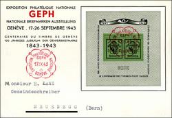 5658: Schweiz Blöcke