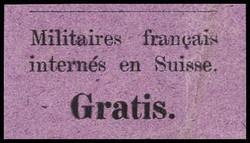 5655162: Schweiz Portofreiheit für das Militär