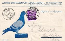 216010: Postgeschichte, Brieftauben, Brieftaubenpost