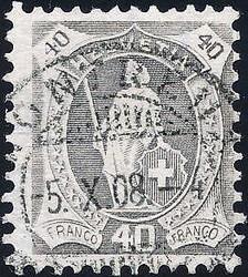 5655147: Schweiz Stehende Helvetia