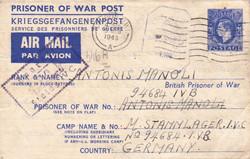 6800: Weltweit Kriegsgefangenen und Displaced Persons Lager