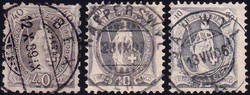 5655147: Schweiz Stehende Helvetia - Lot