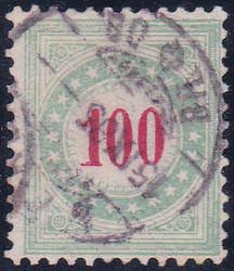 5655204: Schweiz Portomarken 1883, 10. Auflage (A) - Portomarken