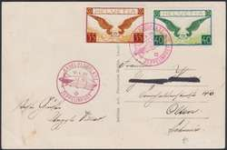982562: Zeppelin, Zeppelinpost LZ 127, Schweizfahrten