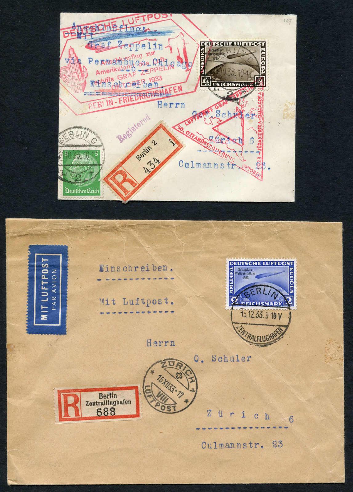 Lot 495 - deutschland Deutsches Reich -  Schwarzenbach Auktion Zurich 67th Auction - Session II