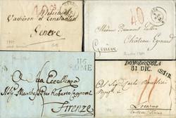 3358: Italien Vorphilatelie - Briefe Posten