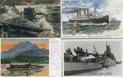 746035: Schifffahrt, Schiffspost, Seen allgemein