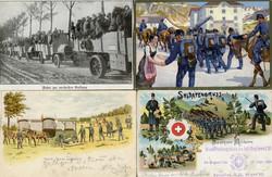 5711: Schweiz Soldatenmarken - Postkarten