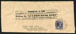 4210: Luxembourg - Covers bulk lot