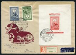 6535: Hungary - Covers bulk lot