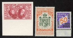 4175: Liechtenstein - Postage due stamps