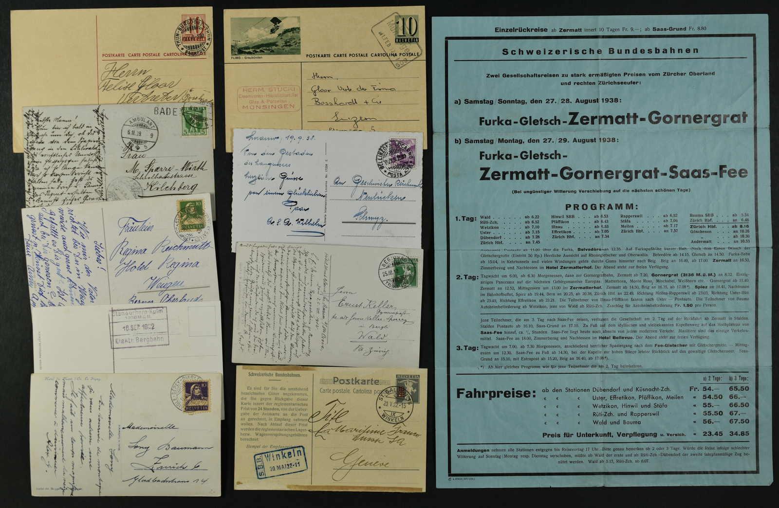 Lot 230 - schweiz schweiz -  Schwarzenbach Auktion Zurich 67th Auction - Session II
