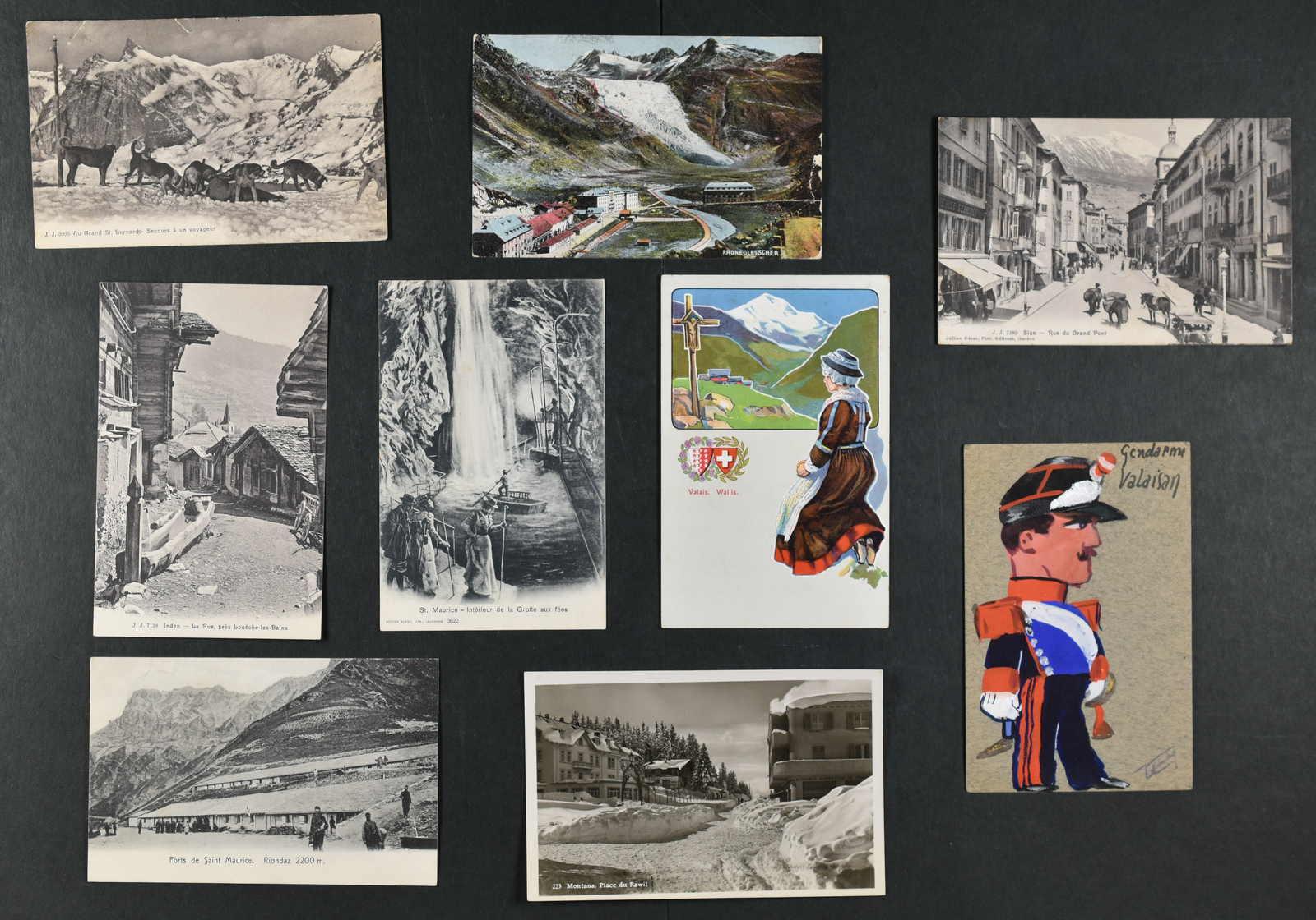 Lot 241 - schweiz kanton wallis -  Schwarzenbach Auktion Zurich 67th Auction - Session II