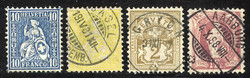 5655148: Schweiz Ziffermuster - Lot