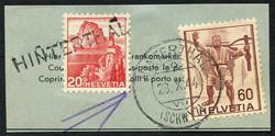 5655148: Schweiz Ziffermuster - Briefe Posten