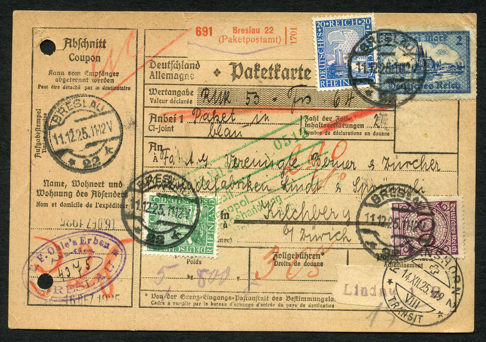 Lot 490 - sammlungen und posten sammlungen und posten deutschland -  Schwarzenbach Auktion Zurich 67th Auction - Session II