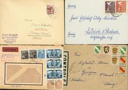 1420: German Federal Republic - Covers bulk lot
