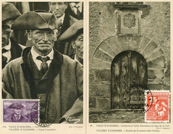 1670: Andorra Französische Post - Briefe Posten