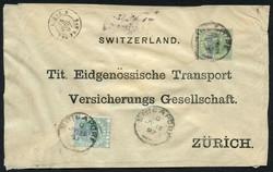 4785: Österreich Post in der Levante - Ganzsachen