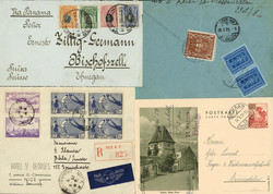 7350: Lots et collections du monde entier - Postal stationery