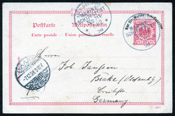 7012: Collections and Lots German German Colonies and Offices - Postal stationery