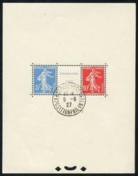 2565: France - Souvenir / miniature sheetlets