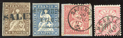 5655146: Switzerland sitting Helvetia perforated - Collections
