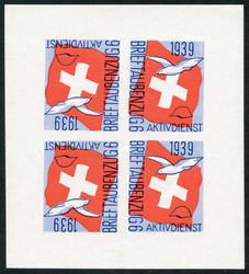 5711: Schweiz Soldatenmarken - Blöcke