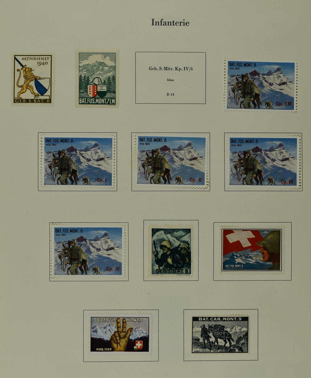 Lot 229 - schweiz Schweiz Soldatenmarken -  Schwarzenbach Auktion Zurich 67th Auction - Session II