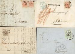 4770: Österreich Lombardei Venetien - Briefe Posten