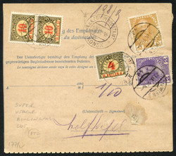 1920: Bosnia and Herzegowina Austria - Covers bulk lot