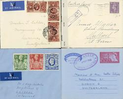 2865: Grossbritannien - Covers bulk lot