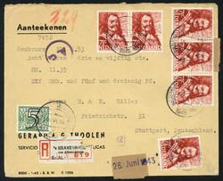 4610: Niederlande - Covers bulk lot