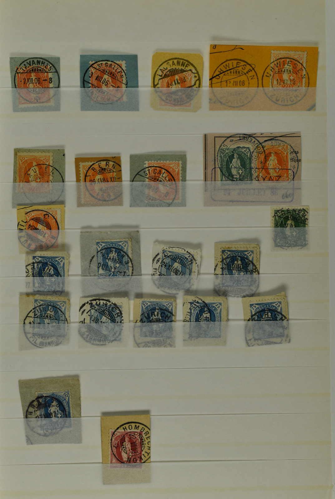 Lot 429 - schweiz schweiz stehende helvetia -  Schwarzenbach Auktion Zurich 67th Auction - Session II