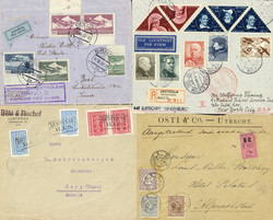 7350: Lots et collections du monde entier - Covers bulk lot