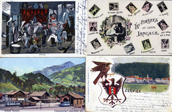 201099: Picture post cards, Post cards artists general