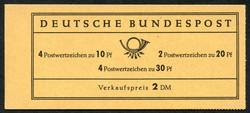 1420: German Federal Republic - Stamp booklets