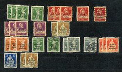 5660: Switzerland Official Stamp for War Economy - Bulk lot