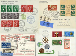 5659: Switzerland Airmail Issues - Postal stationery